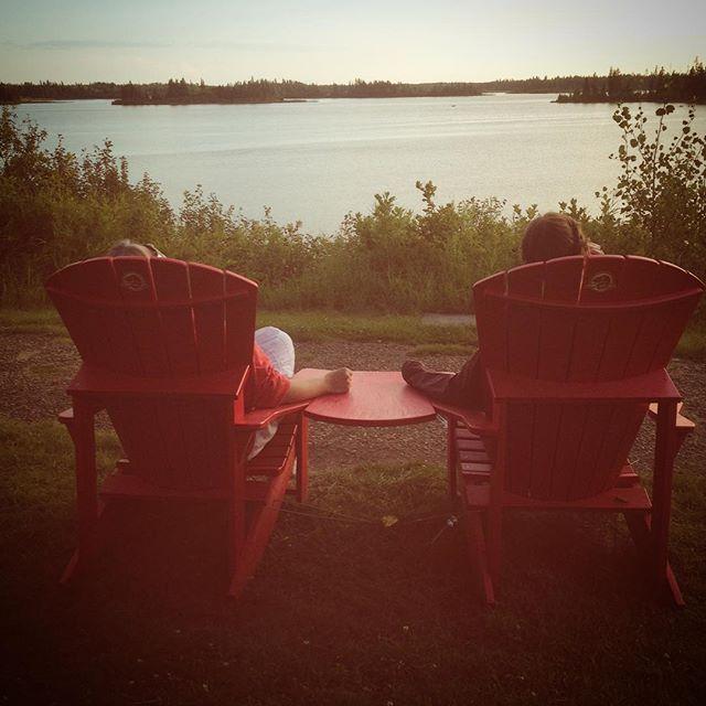 Elk Island #redchair