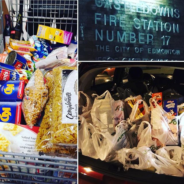 Annual food bank run...done! #merryxmas #spreadthejoy #happyholidays