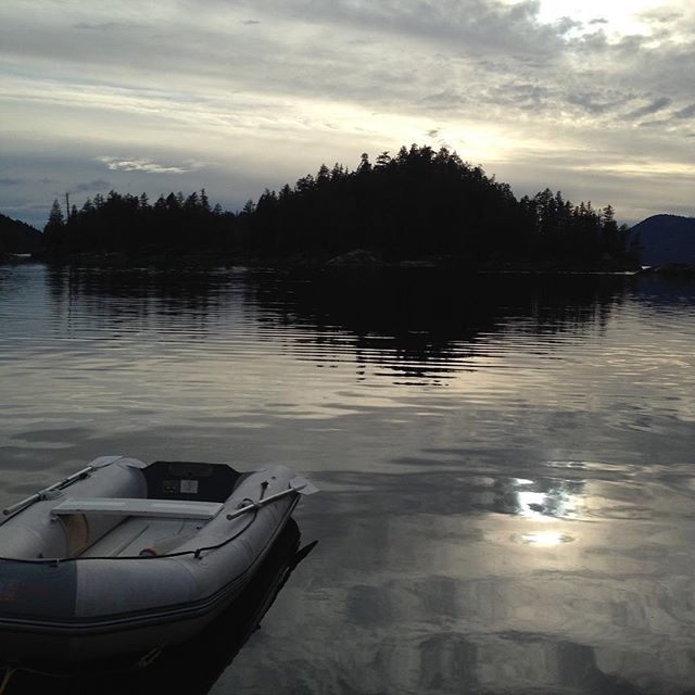 All alone in Laura Cove, Prideaux Haven #DesolationSound #springcruising
