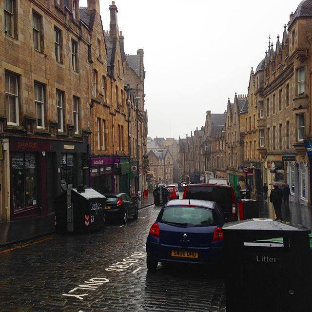 Good morning Edinburgh!
