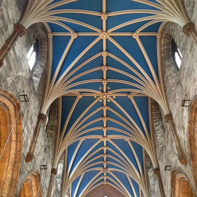 St Giles' vaulted ceiling in Edinburgh