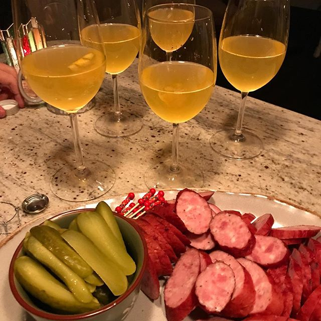 What's your Solstice cocktail? Were resampling the French 75! Happy solstice everyone!